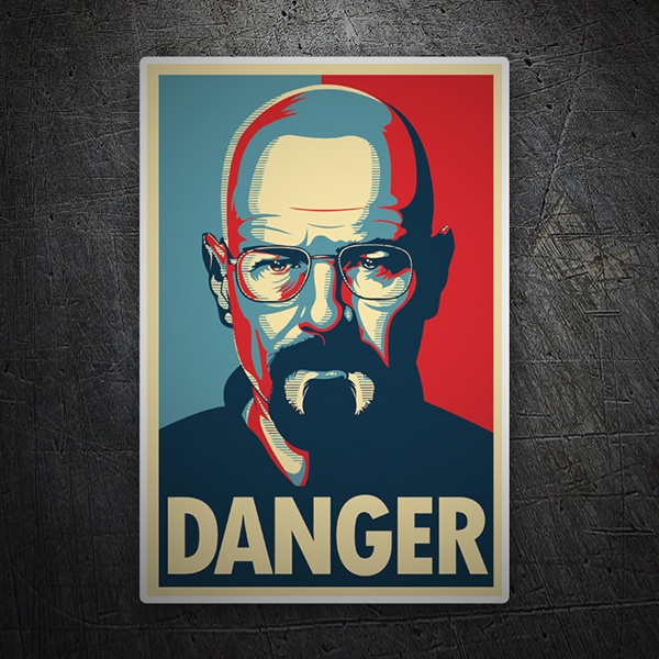 Car & Motorbike Stickers: Breaking Bad Danger