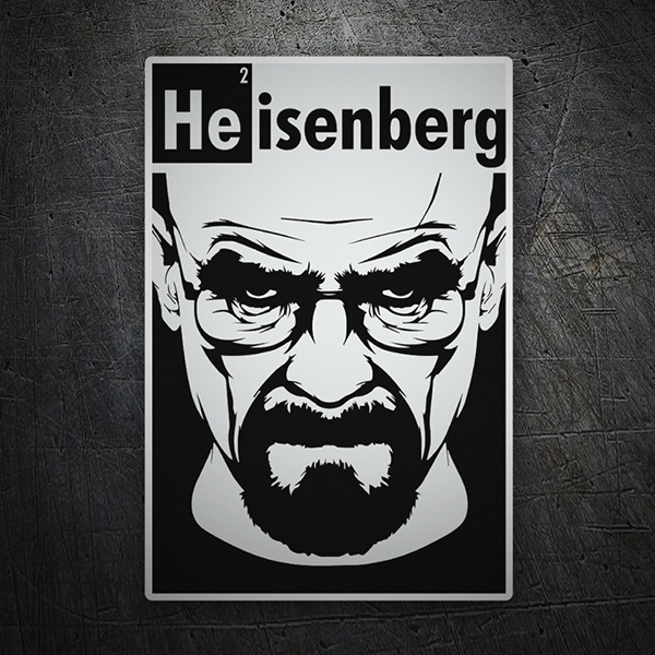 Car and Motorbike Stickers: Breaking Bad Heisenberg