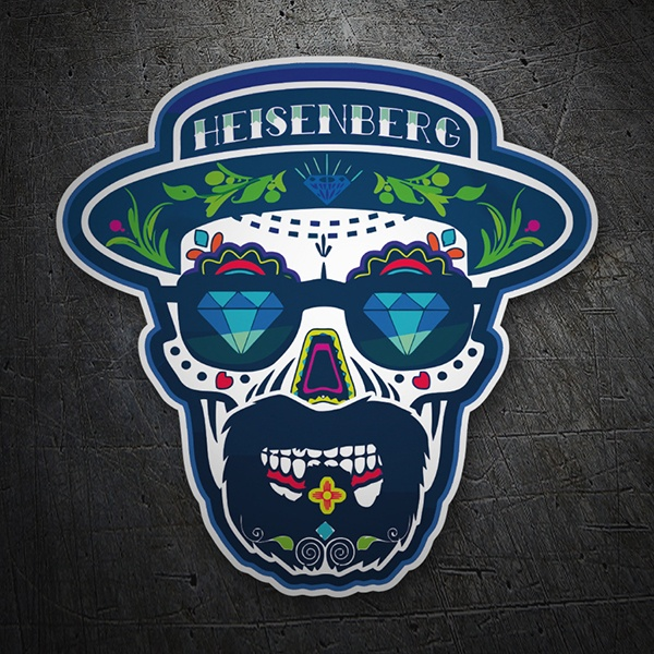 Car and Motorbike Stickers: Breaking Bad  Mexican Skull