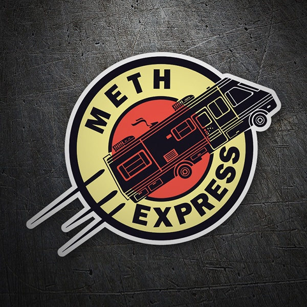 Car and Motorbike Stickers: Breaking Bad Express