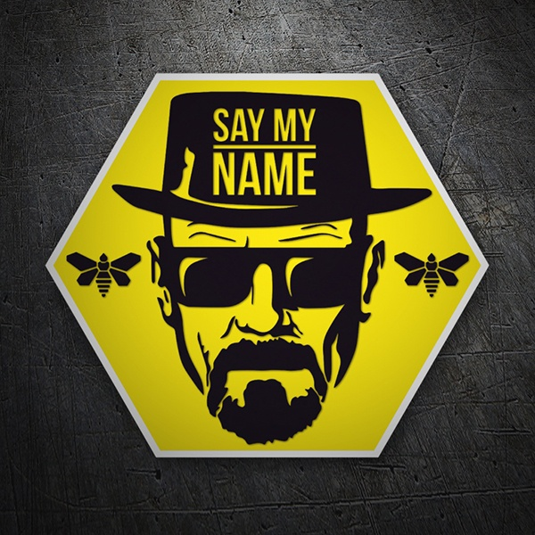 Car & Motorbike Stickers: Breaking Bad Bees