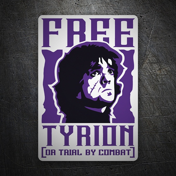 Car & Motorbike Stickers: Game of Thrones Free Tyrion