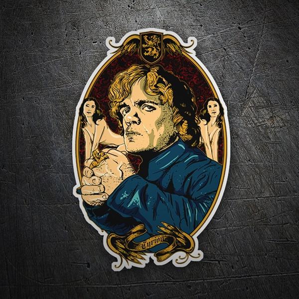 Car & Motorbike Stickers: Game of Thrones Tyrion Girls