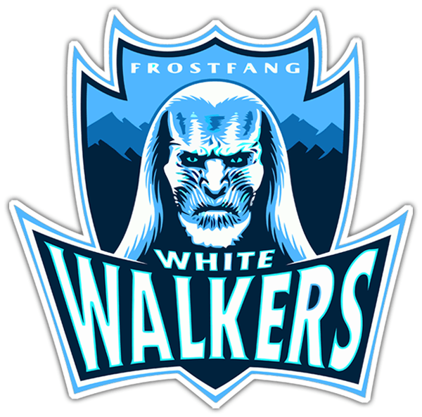 Car & Motorbike Stickers: Game of Thrones White Walkers