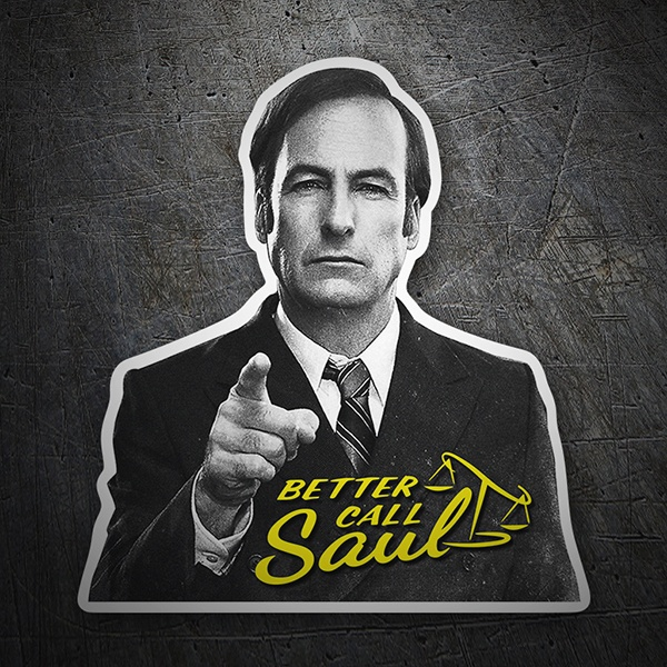 Car and Motorbike Stickers: Breaking Bad Call Saul