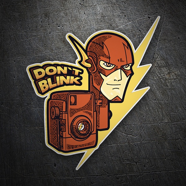 Car and Motorbike Stickers: Flash Don´t Blink