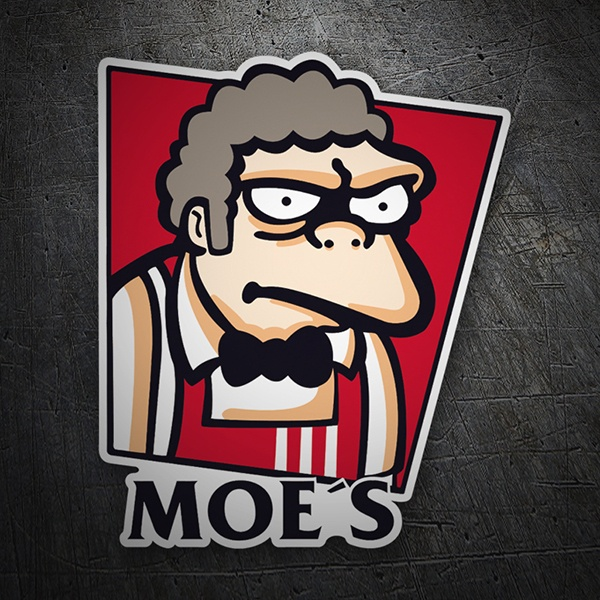Car and Motorbike Stickers: Moe´s