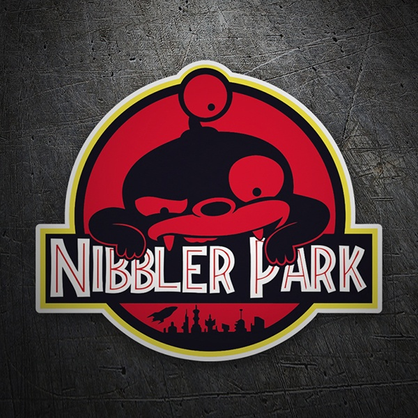 Car and Motorbike Stickers: Nibbler Park