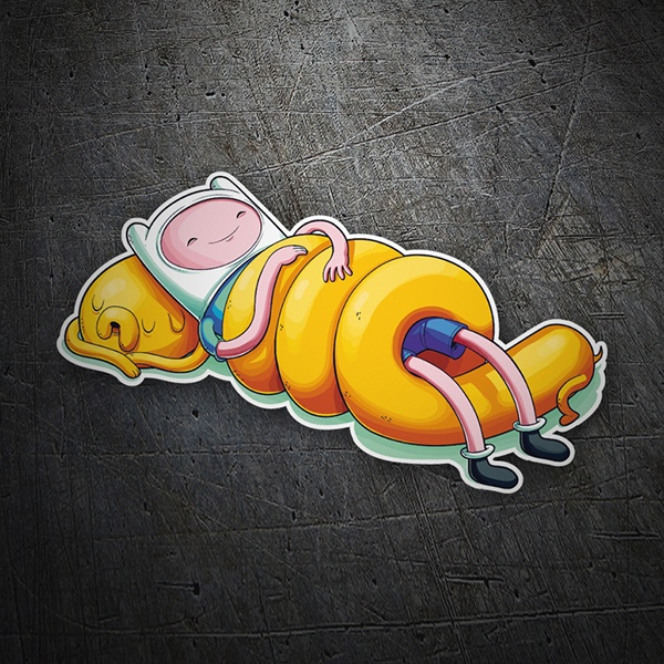 Car and Motorbike Stickers: Adventure Times relax
