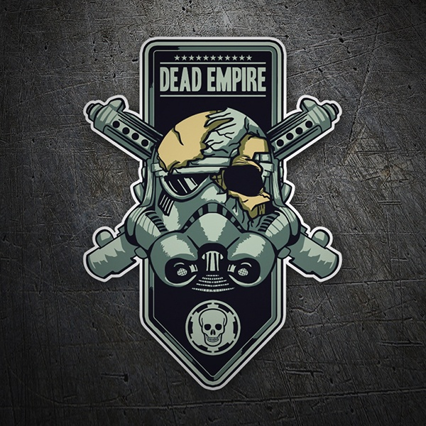 Car and Motorbike Stickers: Dead Empire