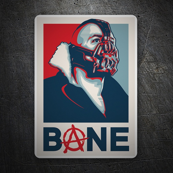 Car and Motorbike Stickers: Bane