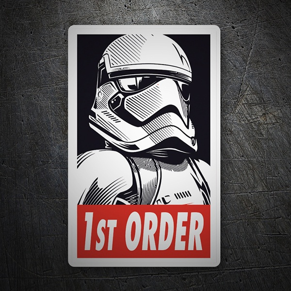 Car and Motorbike Stickers: 1st Order
