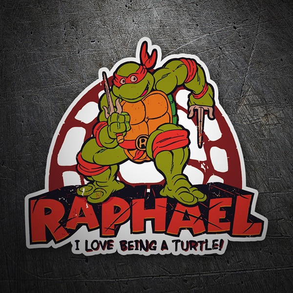 Car & Motorbike Stickers: Raphael