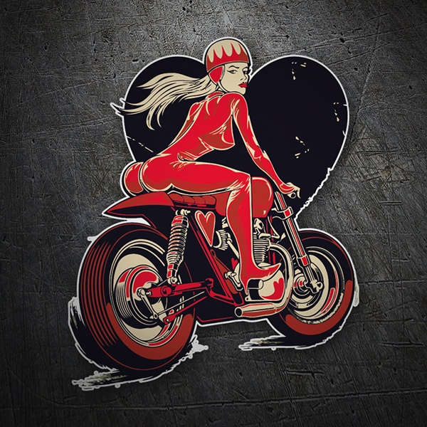 Car & Motorbike Stickers: Café Danger