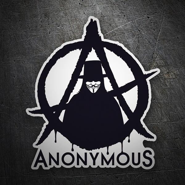 Sticker Anonymous Muraldecal Com