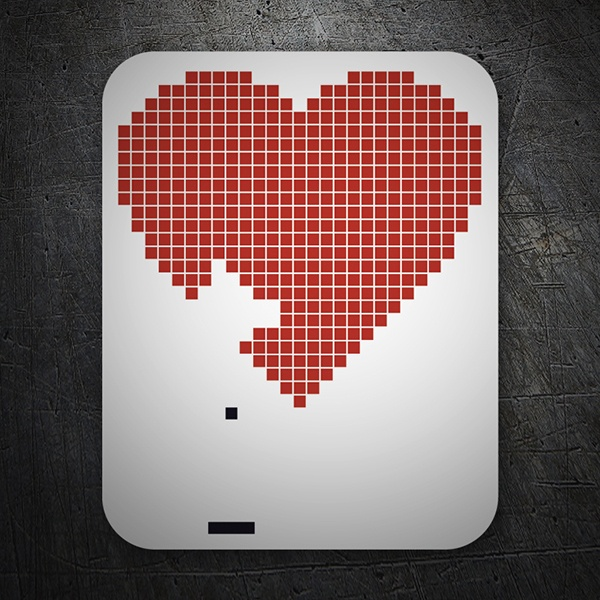 Car & Motorbike Stickers: Arkanoid Love