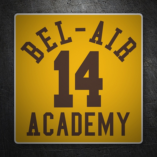 Car and Motorbike Stickers: Bel Air Academy