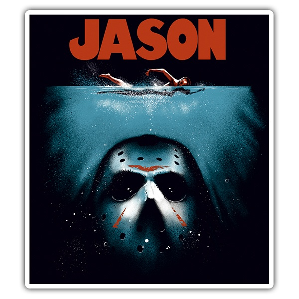 Car and Motorbike Stickers: Jason Shark