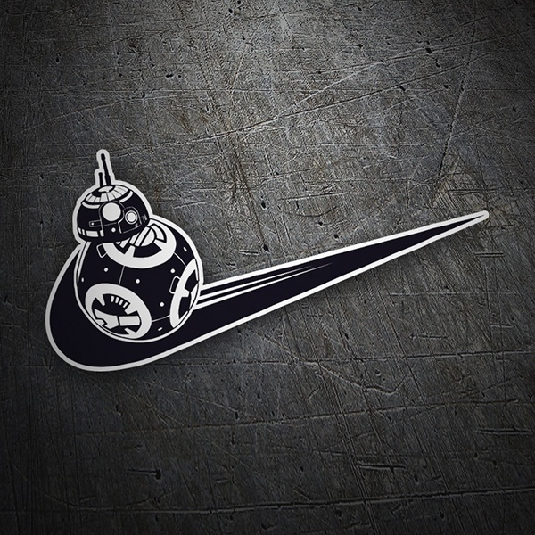 Car & Motorbike Stickers: BB8 Nike