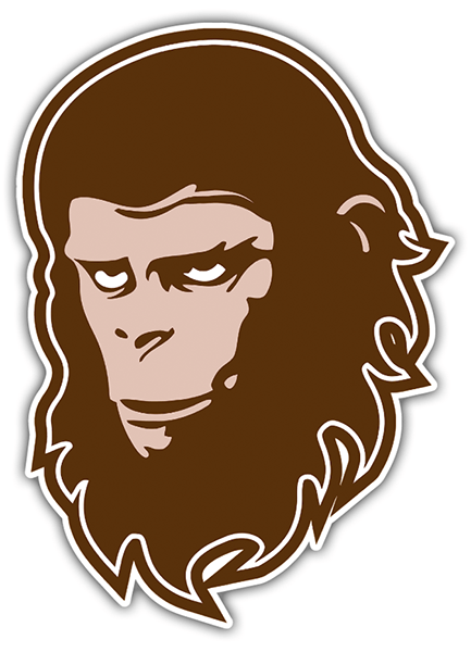 Car & Motorbike Stickers: planet of the apes