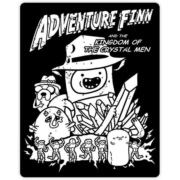 Car & Motorbike Stickers: Adventures Finn