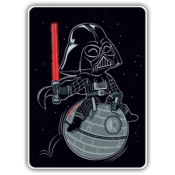 Car & Motorbike Stickers: Baby Darth Vader