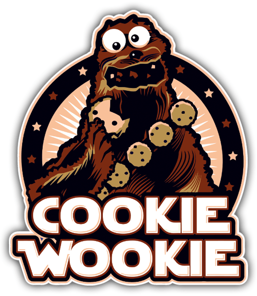 Car and Motorbike Stickers: Cookie Wookie