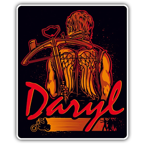 Car & Motorbike Stickers: Daryl