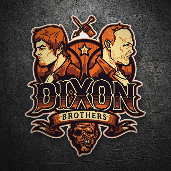 Car & Motorbike Stickers: Dixon Brothers 1