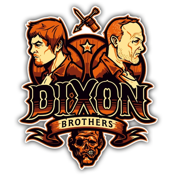 Car and Motorbike Stickers: Dixon Brothers