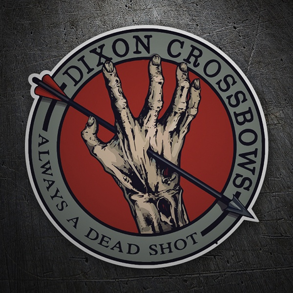 Car & Motorbike Stickers: Dixon Crossbows 1