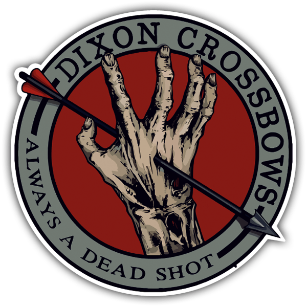 Car & Motorbike Stickers: Dixon Crossbows