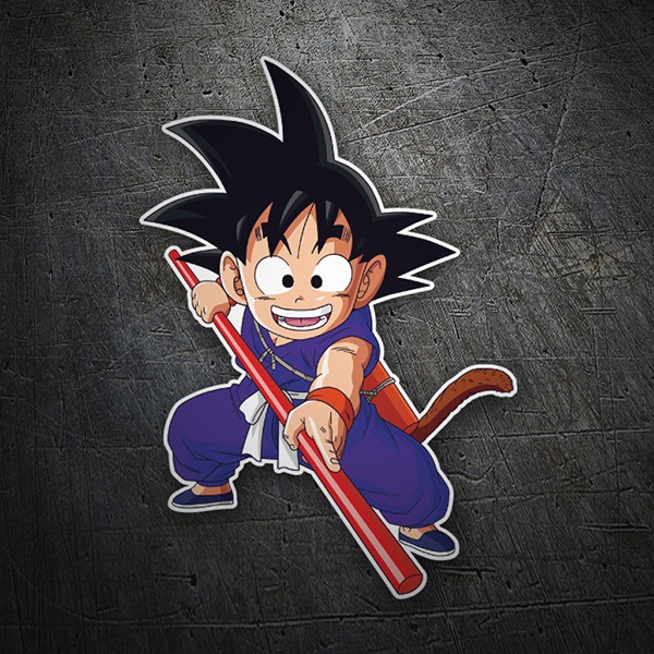 Car & Motorbike Stickers: Goku stick 1