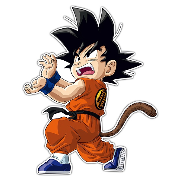 Car & Motorbike Stickers: Goku Vital wave