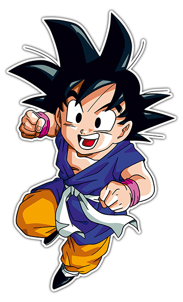 Car and Motorbike Stickers: Goku fist