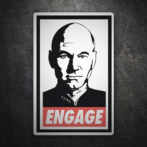 Car & Motorbike Stickers: Charles Xavier Engage