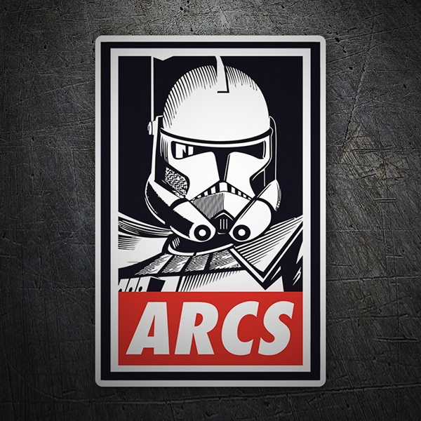 Car & Motorbike Stickers: Stormtrooper