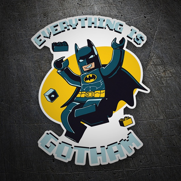 Car & Motorbike Stickers: Batman Lego