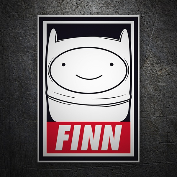 Car & Motorbike Stickers: Finn Obey