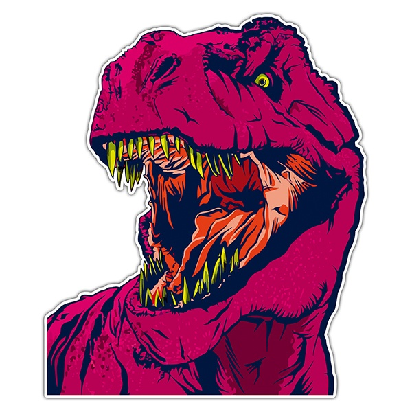 Car & Motorbike Stickers: T-Rex