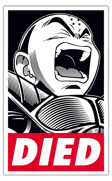 Car and Motorbike Stickers: Dragon Ball Obey