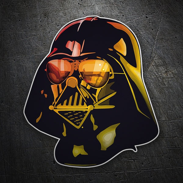 Car & Motorbike Stickers: Darth Vader GTA