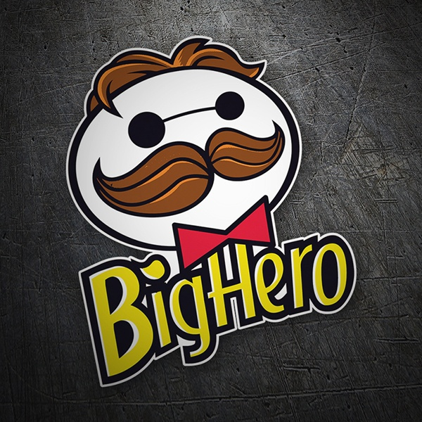 Car & Motorbike Stickers: Big Hero