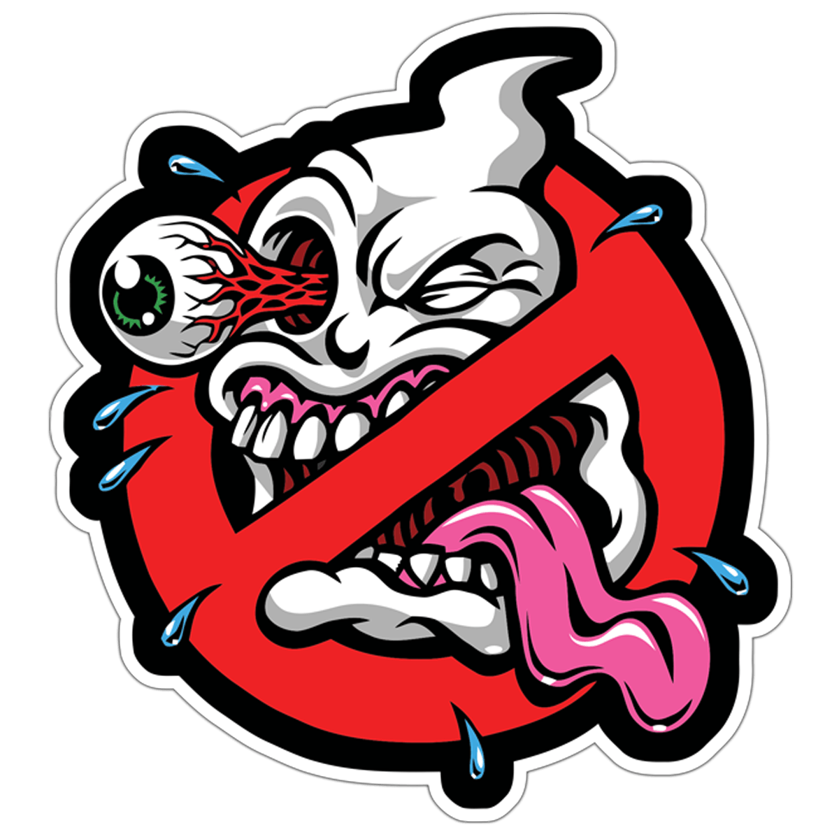 Car & Motorbike Stickers: Ghostbusters Skate