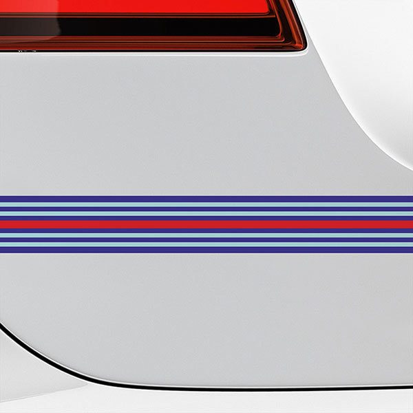 Car & Motorbike Stickers: Bands Martini Racing
