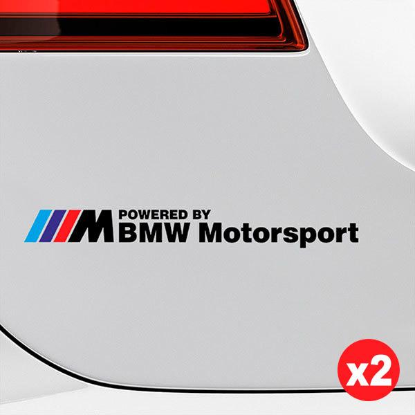 Car & Motorbike Stickers: Kit BMW Motorsport Black 1