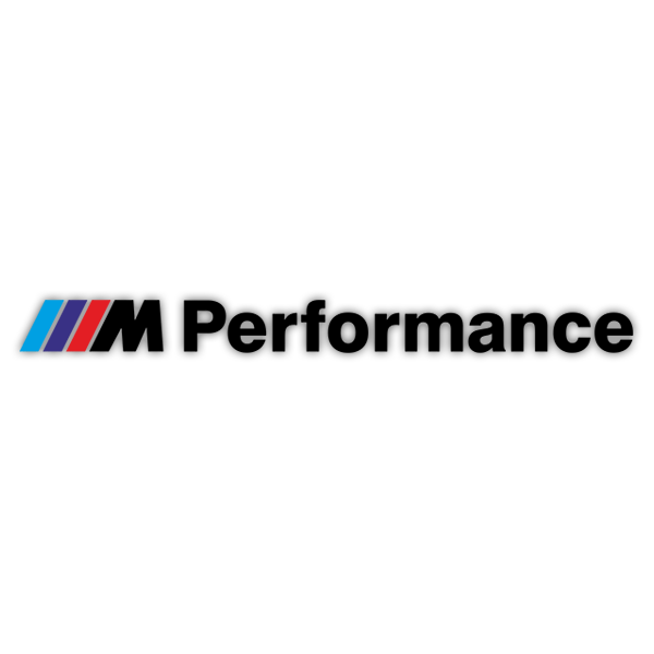 Car & Motorbike Stickers: BMW Performance Black