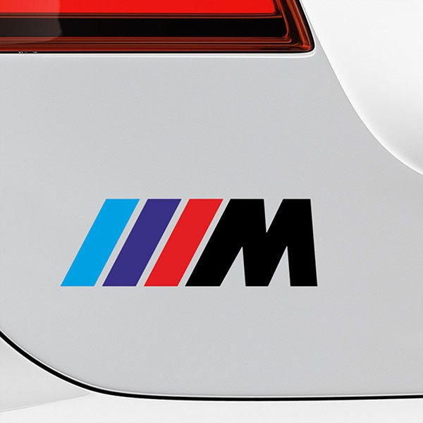 Car & Motorbike Stickers: BMW M-series Black
