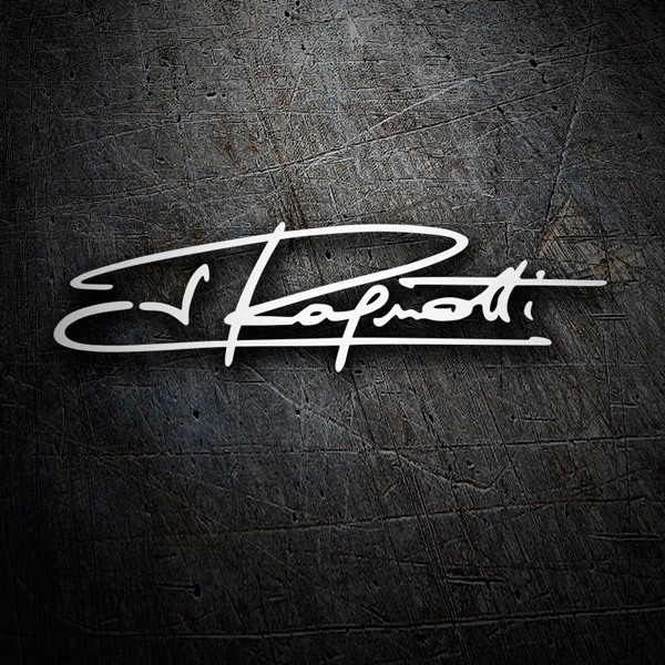 Car & Motorbike Stickers: Kit Jean Ragnotti Signature