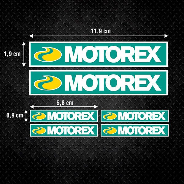 Car & Motorbike Stickers: Set Motorex